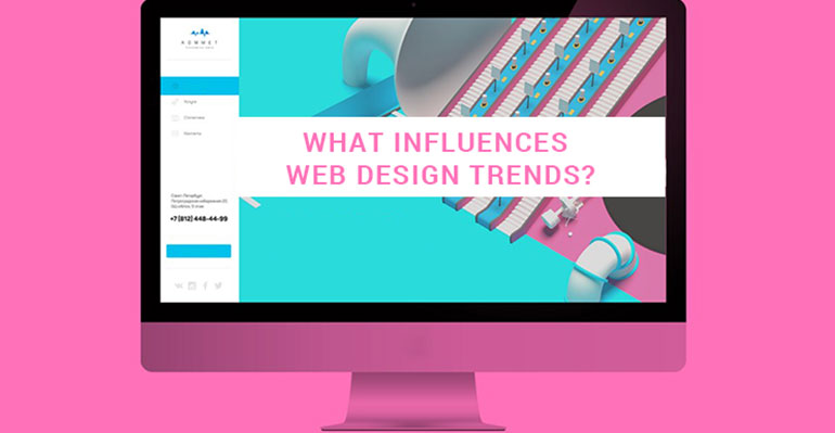 What Influences Web Design Trends?