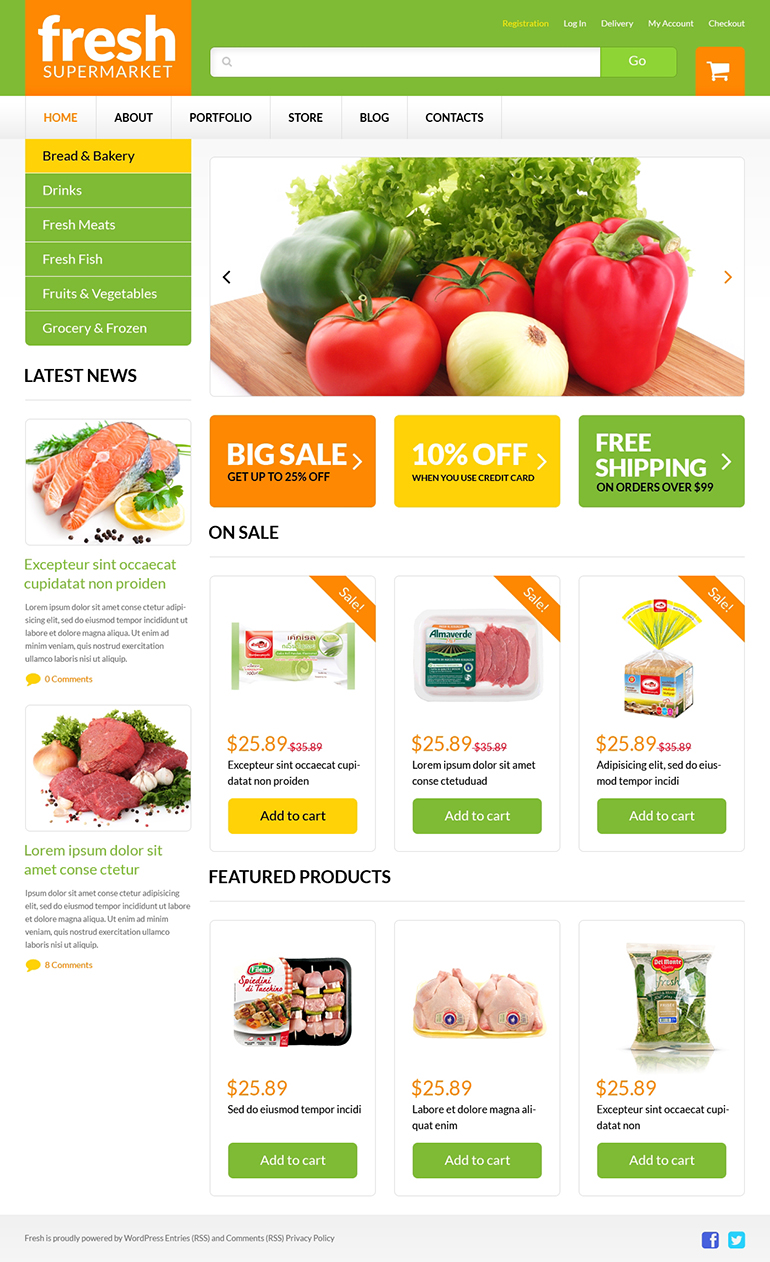 Grocery WooCommerce Theme