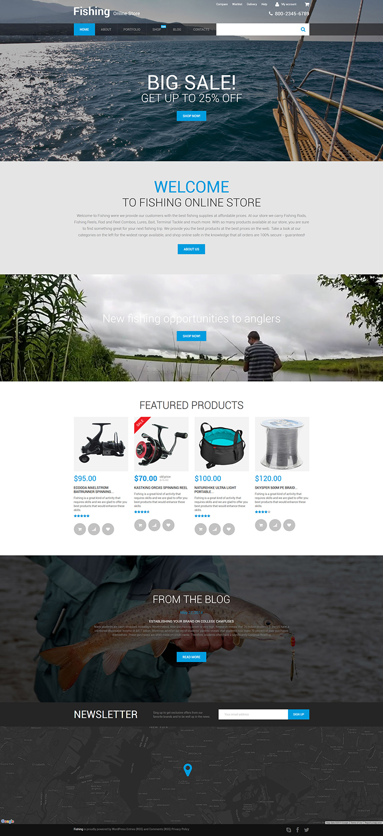 Online Store WooCommerce Theme