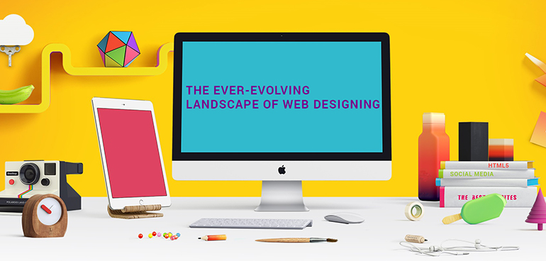The Ever-Evolving Landscape of Web Designing - A Retrospective Glance