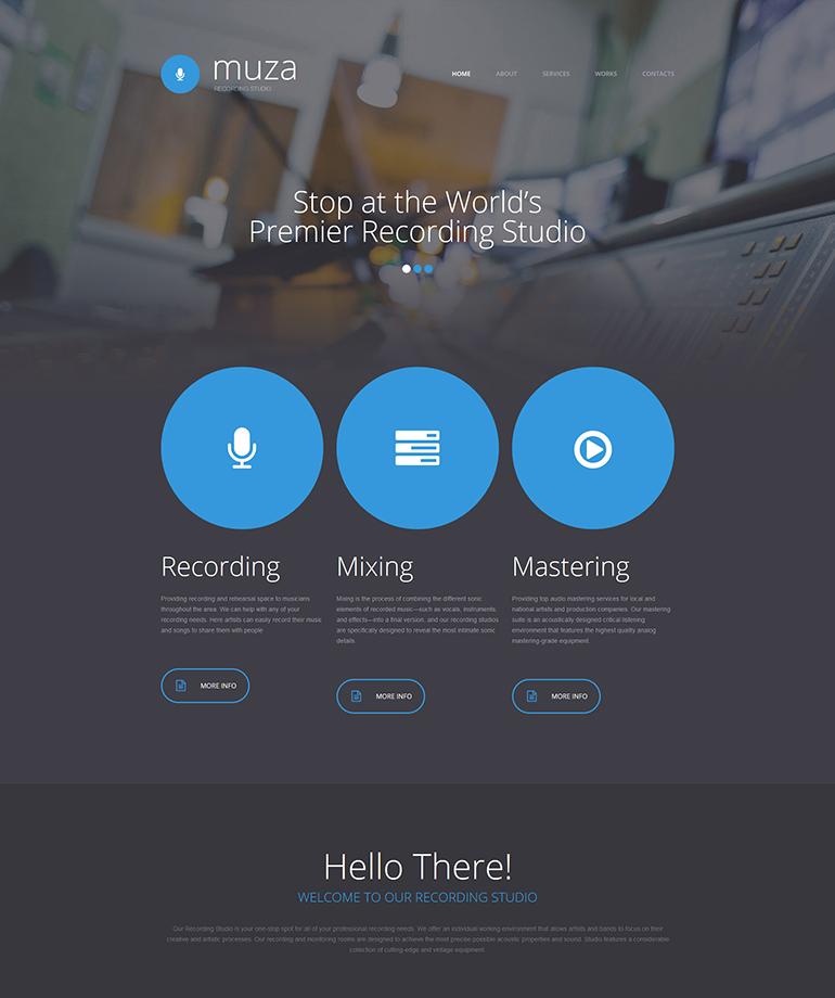 The Best Music WordPress Themes for 2016 | Web Template Customization