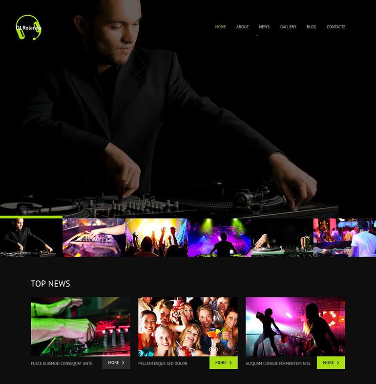 The Best Music WordPress Themes for 2016   Web Template Customization