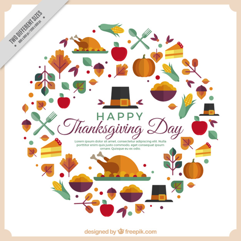 Free Thanksgiving Flyers