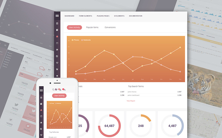 Bootstrap Admin Templates - The Best Way To Level Up Your