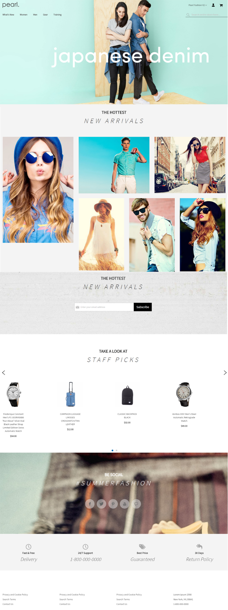 Worth it magento 2 templates for your business success web another magento 2 template named pearl is a good choice for jewelry clothes and fashion store besides amazing design you can see rich and easy to handle pronofoot35fo Choice Image