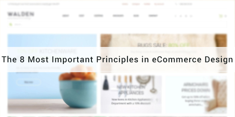 The 8 Most Important Principles in eCommerce Design