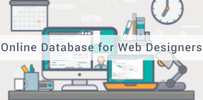 Online Database for Web Designers