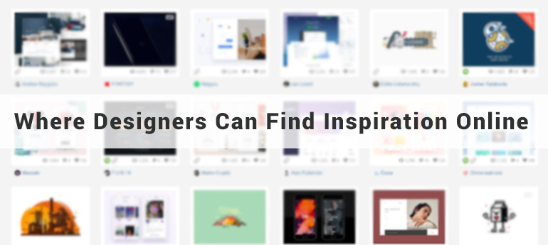 Where Designers Can Find Inspiration Online