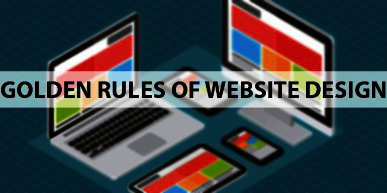 The Five Golden Rules of Website Design