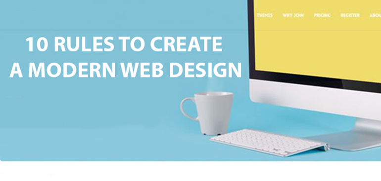 10 Rules to Create a Modern Web Design
