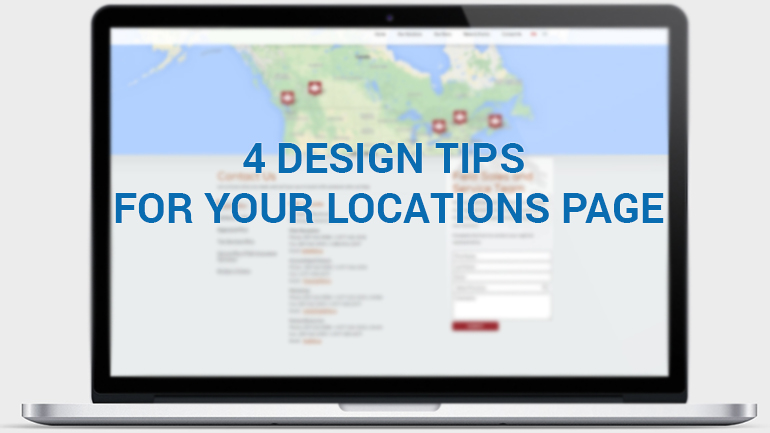 4 Design Tips for Your Locations Page