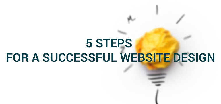 5 Steps for a Successful Website Design