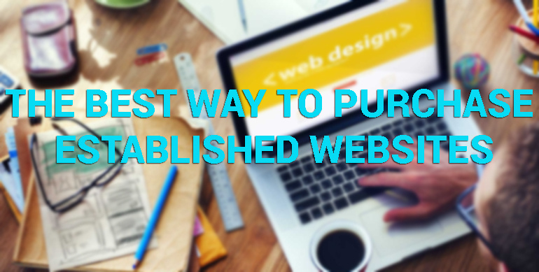 The Best Way to Purchase Established Websites