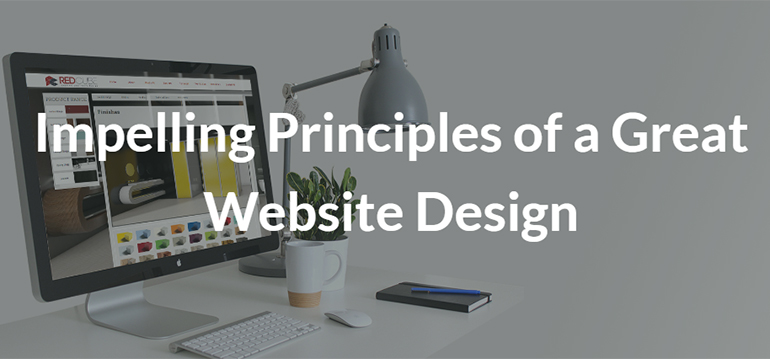 Impelling Principles of a Great Website Design