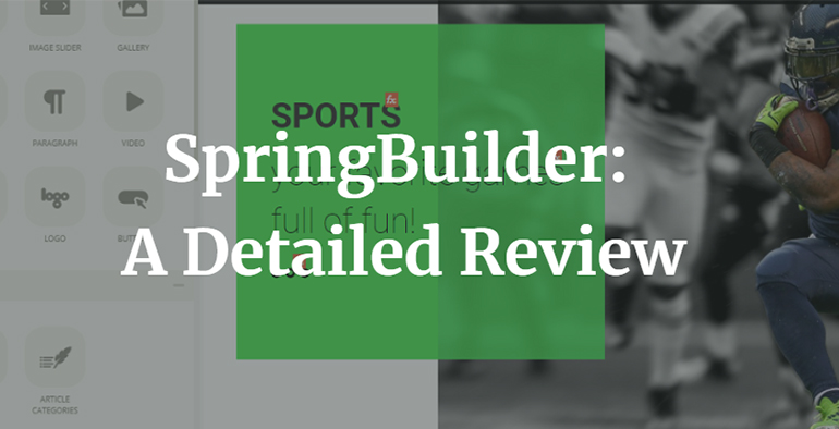 SpringBuilder: A Detailed Review