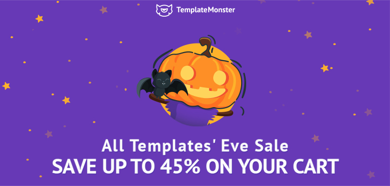 Halloween Goodies from TemplateMonster With Awesome Discounts