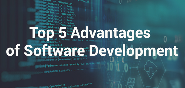 Top 5 Advantages of Software Development