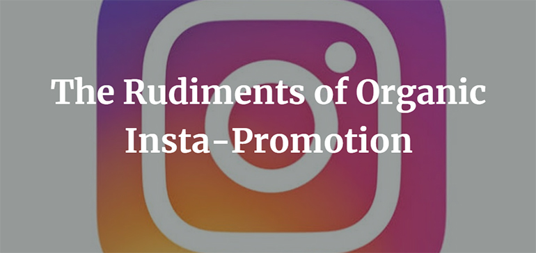 The Rudiments of Organic Insta-Promotion