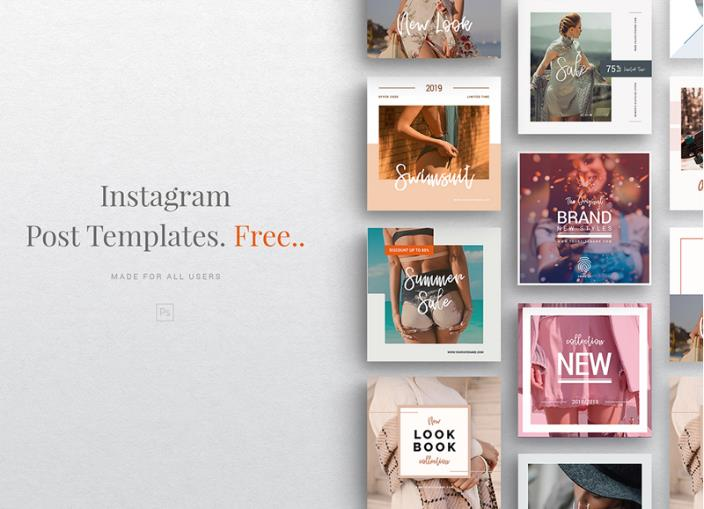 40 Best Free Instagram Templates for Engaging Stories and Posts 9