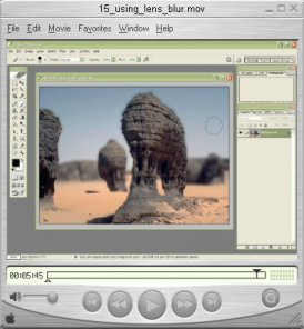 Using the Lens Blur Filter (video tutorial)