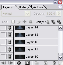 Layers Pallete