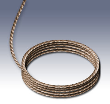 Coils Of Rope. Realistic Rope in Photoshop
