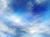 Realistic Sky With Clouds