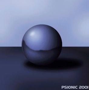 Airbrushing A Simple Sphere