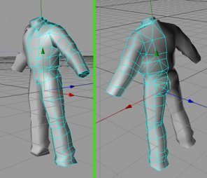 Generic 3D Game Dude 1 - Modelling the Body/Legs