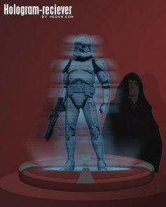 Hologram Reciever from Star Wars
