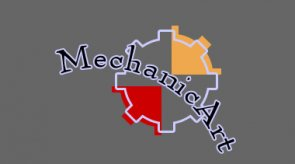 Mechanical art logo