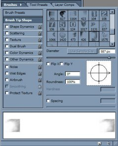 Loading Brushes in Adobe Photoshop