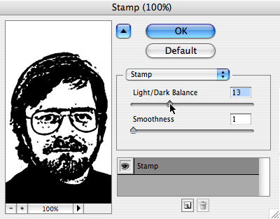 Create Rubber Stamp Effect in Photoshop