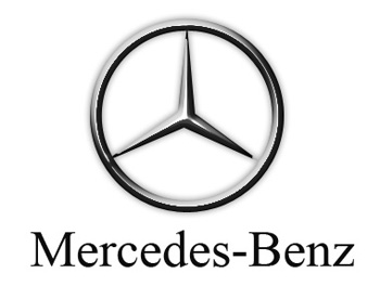 Creating the mercedes benz logo drawing techniques for Mercedes benz text