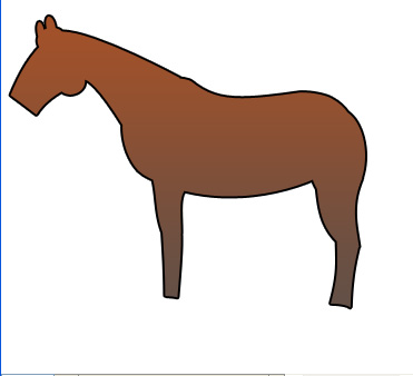 Drawing a Cartoon Horse
