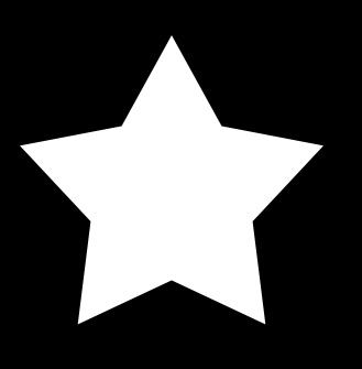 Vector Clipart of Red golden wavy pattern star border - Border
